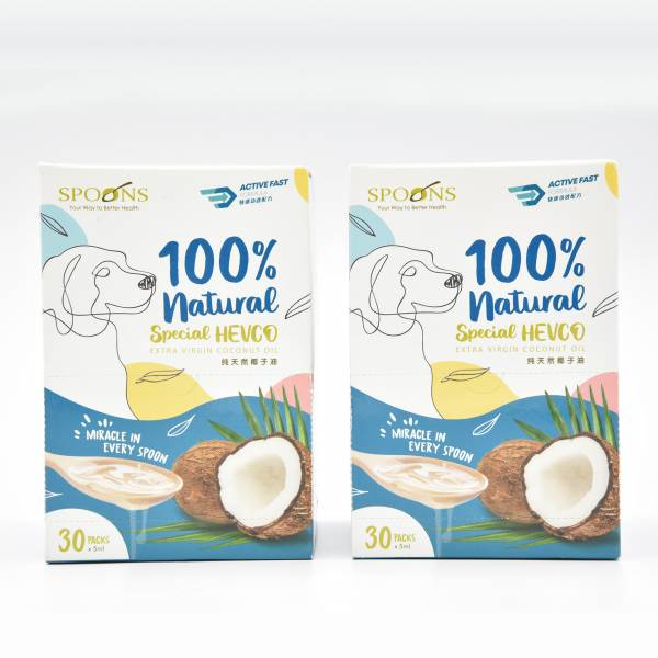 Spoons  Special Hevco Extra Virgin Coconut (2 Boxes)