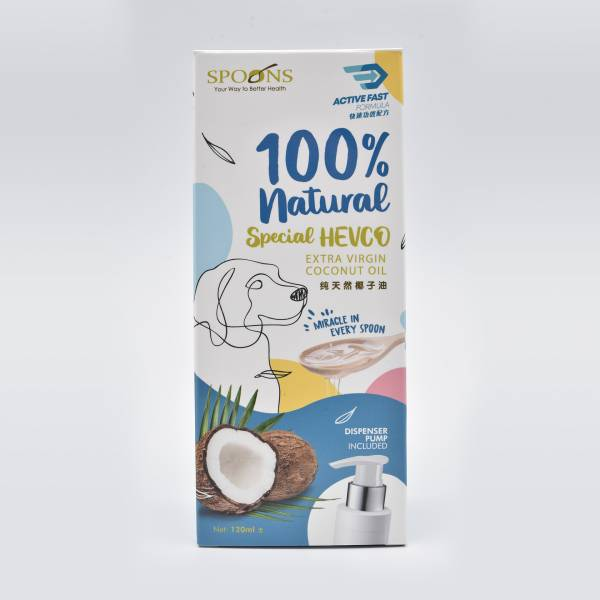 Spoons  Special Hevco Extra Virgin Coconut (Included Dispenser Pump)