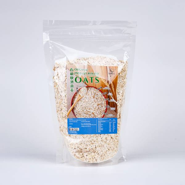 Organic Instant Rolled Oats
