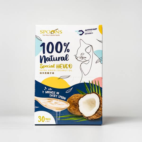 Spoons  Special Hevco Extra Virgin Coconut (1 Box)